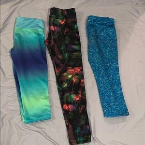 Set of 3 girls old navy leggings
